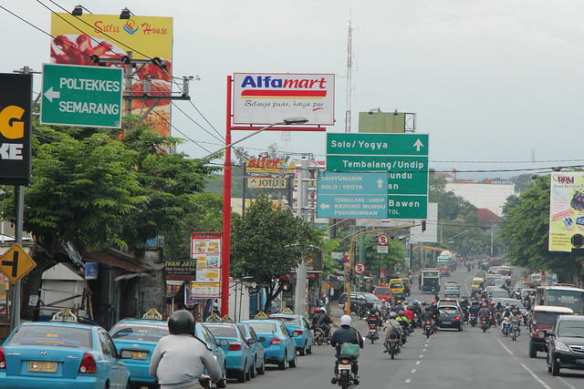 Jalan Dokter Setiabudi - Sembungharjo (Java - Indonesia)
