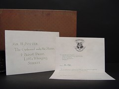 "May 25 2011 [Day 205] Bonus ""Harry's Hogwarts Acceptance Letter Alternative A"""