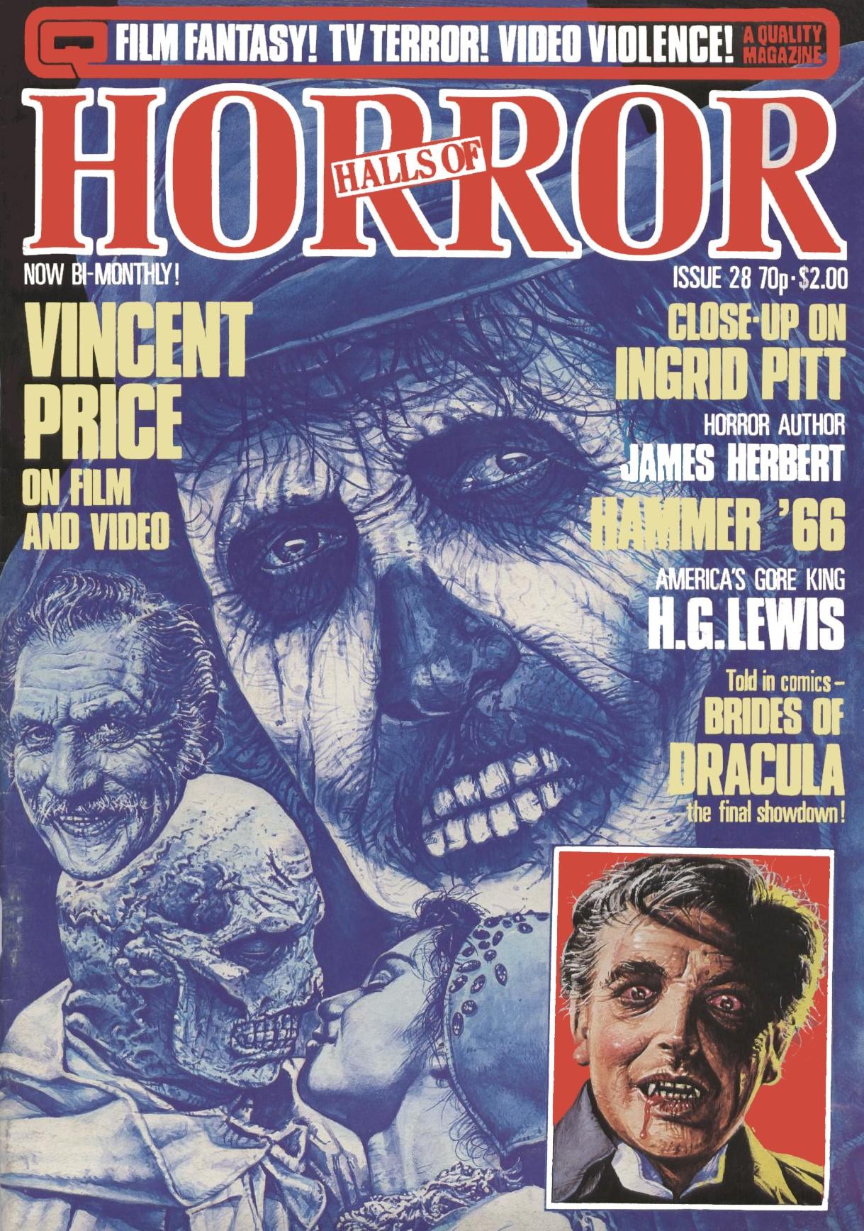 monster brains  house of hammer magazine