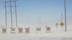Dust storm Palm Springs desert May 28 2011