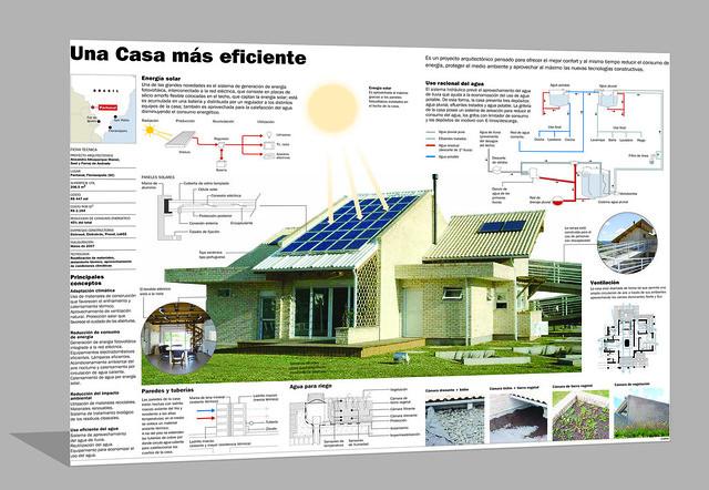 Infografia casa eficiente flickr photo sharing for Piccola casa efficiente