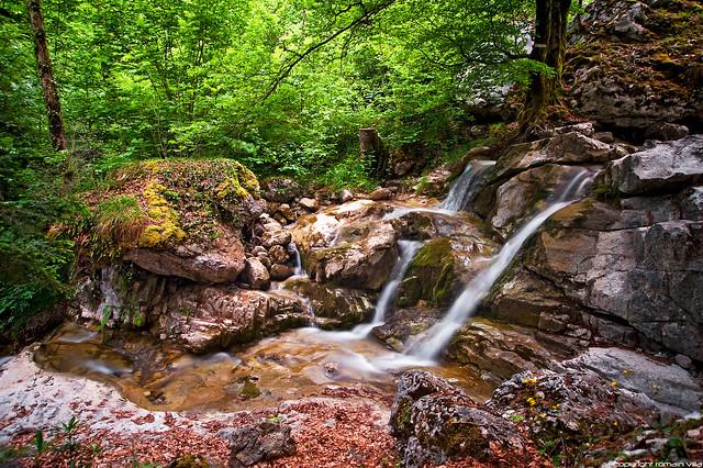 circuit des cascades - Thones - haute-savoie