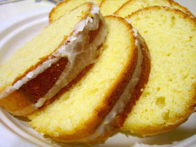 Butter Almond Pound Cake