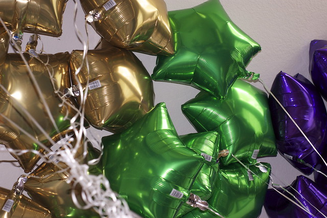 Header of ballons