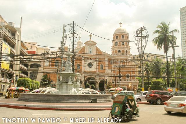 Asia - Philippines - Manila - Binondo - A church around Binondo area