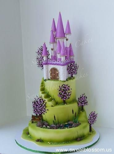 Castle Cake by Tatyana