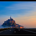 Road to Mont Saint Michel by Guillermo R.