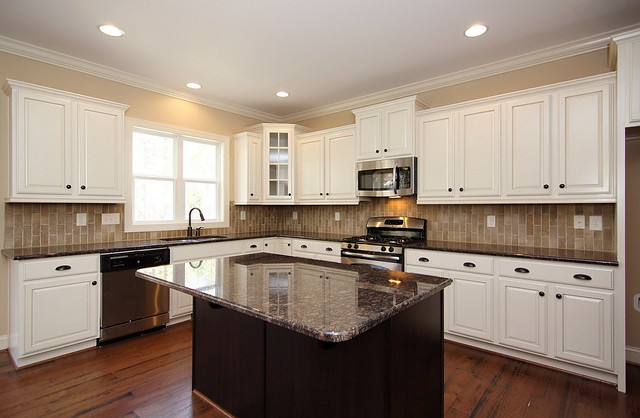 grant beige or bleeker beige for cabinets
