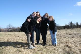 Ann-Kathrin, Marta, Jannika, Eva, Christin