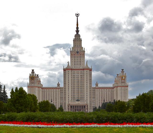 Las Siete Hermanas. Los rascacielos de Stalin. Universidad Estatal de Moscú