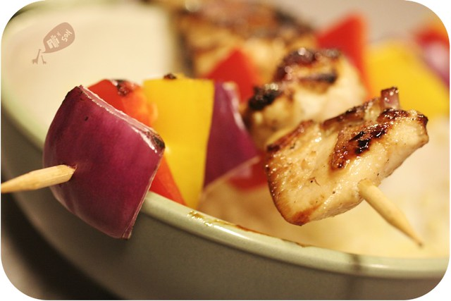Quick and Easy Meal: Chicken Skewers