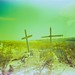 Terlingua graveyard by David Adam Salinas