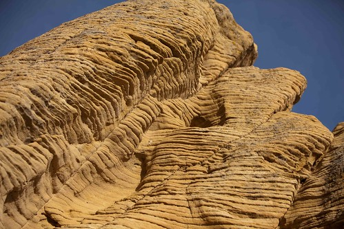 striped sandstone
