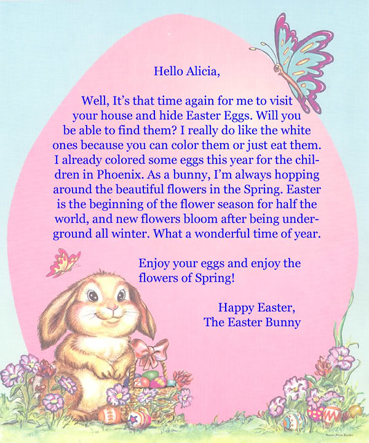 letter to easter bunny template - 5595988951 078c0a87e7