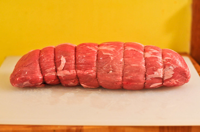 Grilled Roast Beef