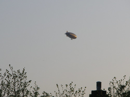 Blimp over Erdington