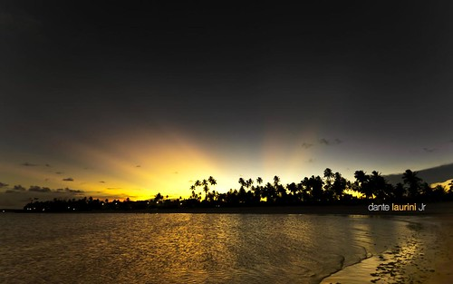 ocean sunset brazil praia beach brasil sunrise mar nikon nuvem pernambuco alagoas sigma1020 dantelaurinijr