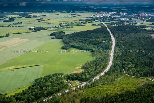 sweden siene swe västragötaland vårgårda flygfoto
