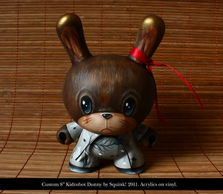 "Daydreams - 8"" Dunny custom"