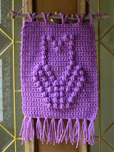 Free Crochet Pattern - Filet Bunny Afghan from the Baby blankets