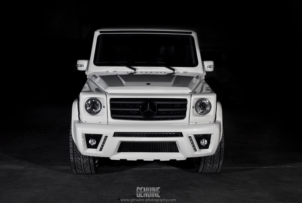 Photo of the day custom mercedes benz g class bodykit for Mercedes benz 6550
