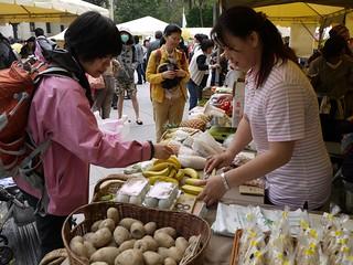 綠色市集邀請小農推廣無毒蔬果