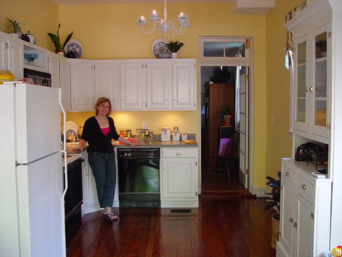 Floor Refinishing Matching Old And New Our Kitchen