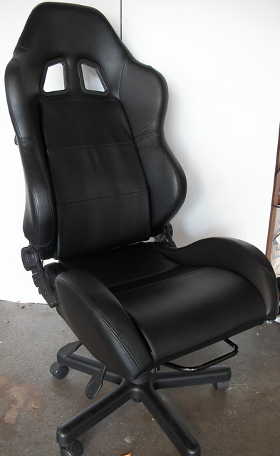 Walmart.com: Race Car Style Bucket Seat Office Chair with Arms