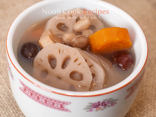 Lotus Root Soup 莲藕汤 by wiffygal