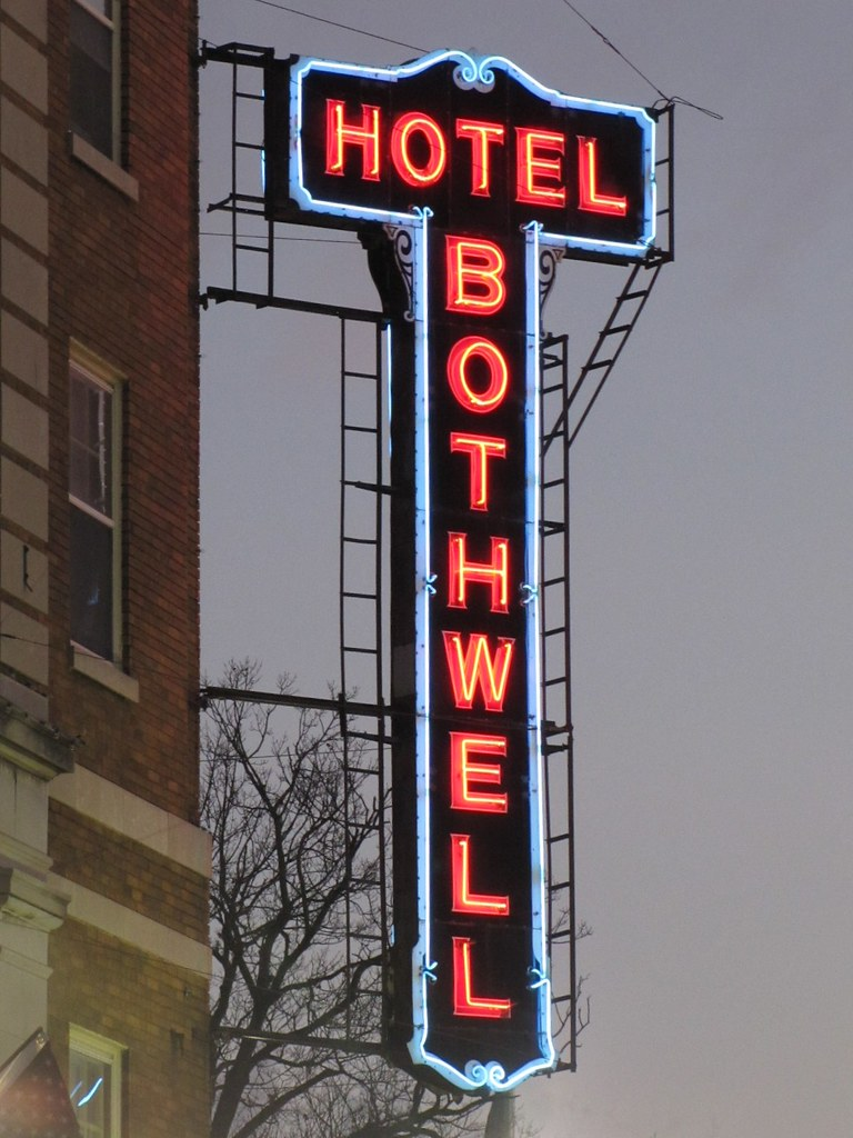 Hotel Bothwell - 103 East 4th Street, Sedalia, Missouri U.S.A. - November 22, 2010
