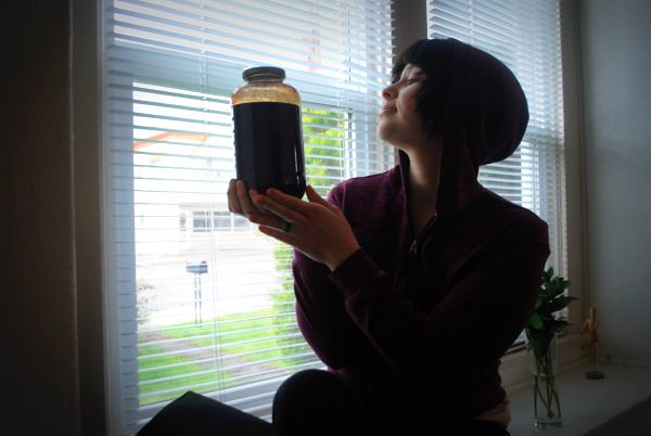 Girl Growing Small - cuntbarf: . animus vox .: My 45oz jar ...