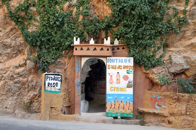 Shop in a Cave, Dades Gorges