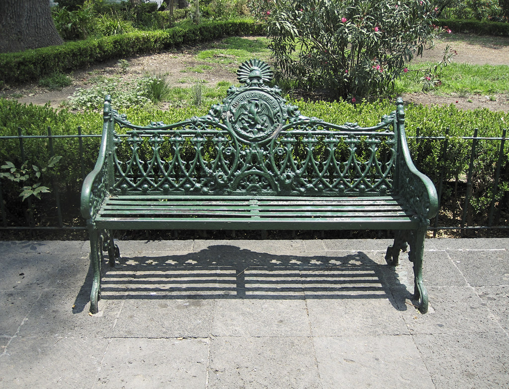 Park Bench In Alameda Central Park Mexico Citiy The Alame Flickr