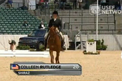 2011 Rolex, Kentucky, Dressage, Colleen Rutledge and Shiraz