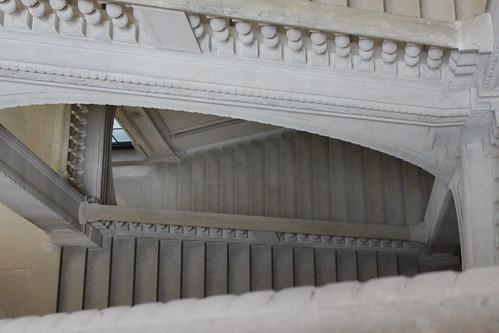 Portaikko Louvresta