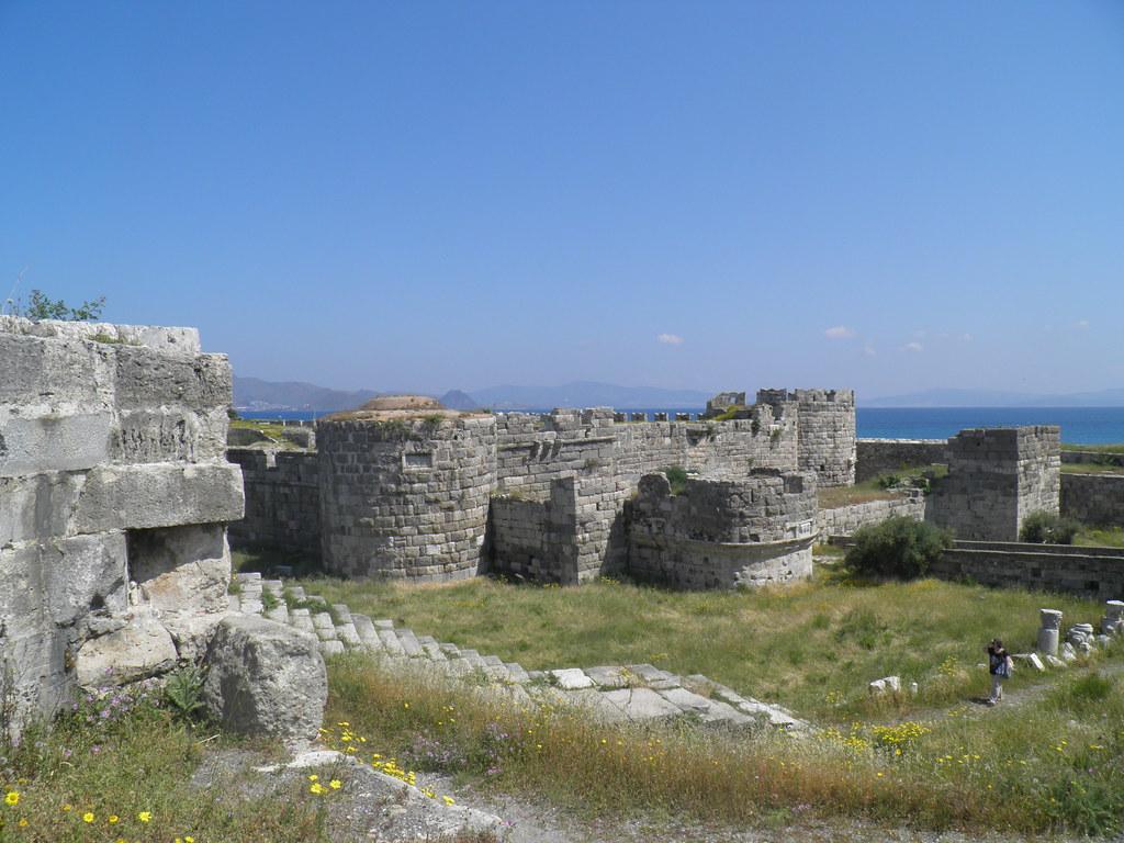 Castle of the Knights of St.-John - Kos island - Greece