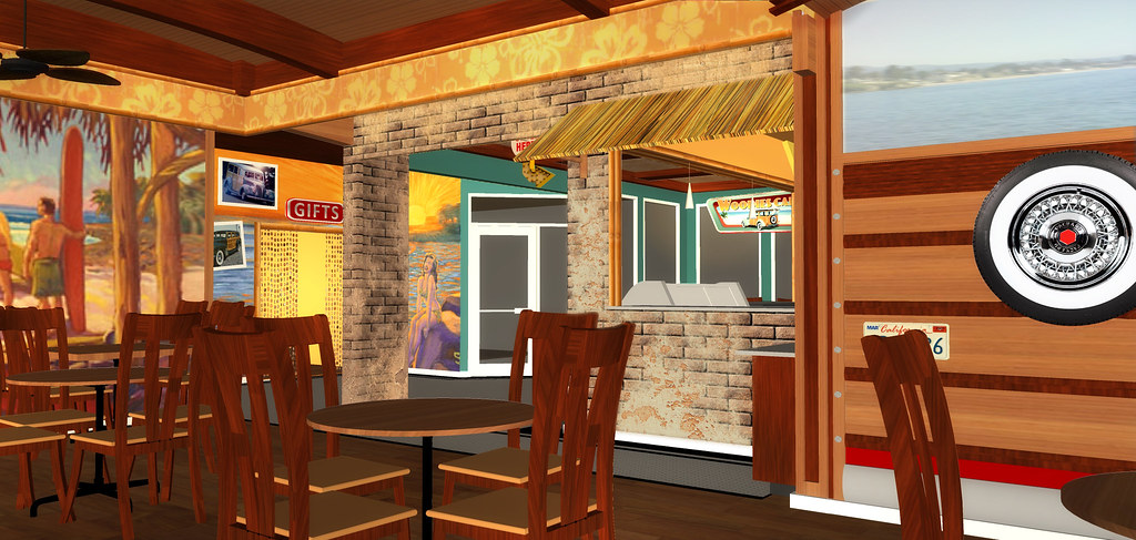 Cafe Design Rendering   Restaurant 3D Design   Cafe Decor Design ...