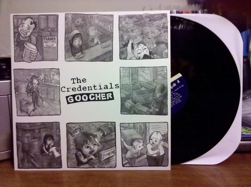 The Credentials - Goocher LP