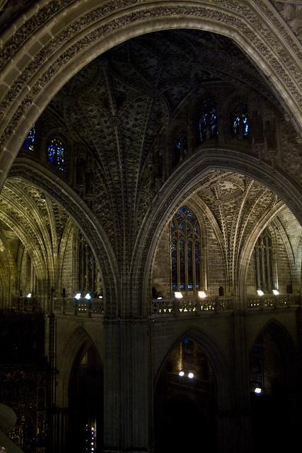 5740243410 cffc796862 - Catedral de sevilla interior ...