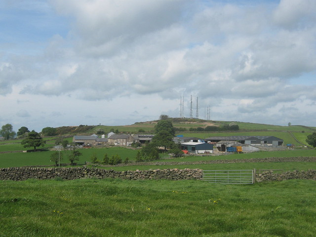 Coneygreave Farm and Alport Height, Derbyshire