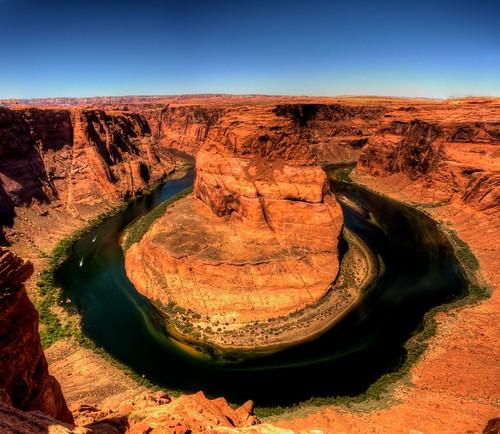 arizona river landscape canyon coloradoriver horseshoebend flickrdiamond