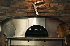 outdoor grill, masonry oven, wood,