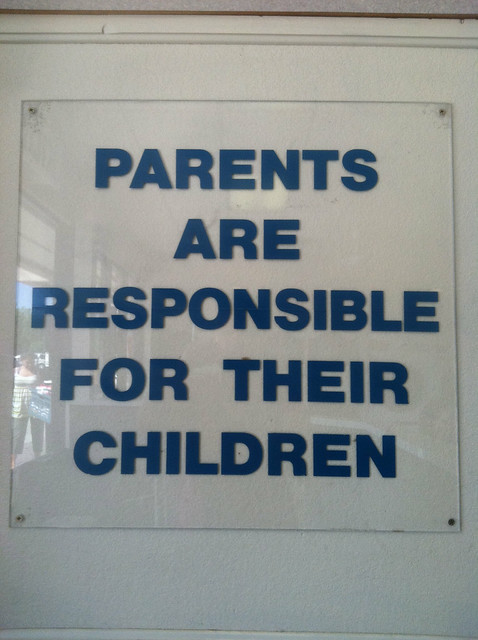 Parents Are Responsible For Their Children   Flickr ...