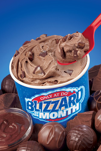 Triple Chocoholic Blizzard Treat Photo