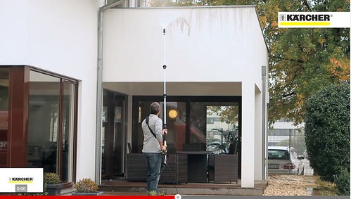 The Telescopic Spray Lance is suitable for multi-storey dwellings (Click on image to watch video)