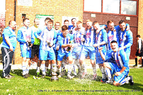Cliffe FC 2 - 0 Fulford | Cliffe FC - York FA Cup Winners 2013/14