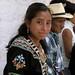 Una joven muy guapa - A beautiful young woman; Fiesta del pueblo, Joyabaj, El Quiché, Guatemala