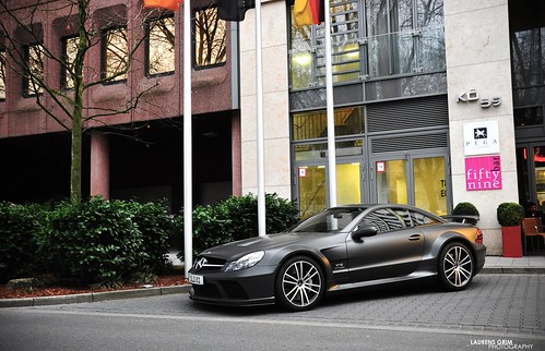Mercedes-Benz SL65 Black Series