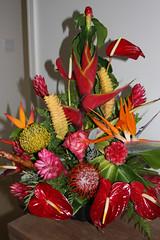 Honeymoon Flower Arrangement Gift