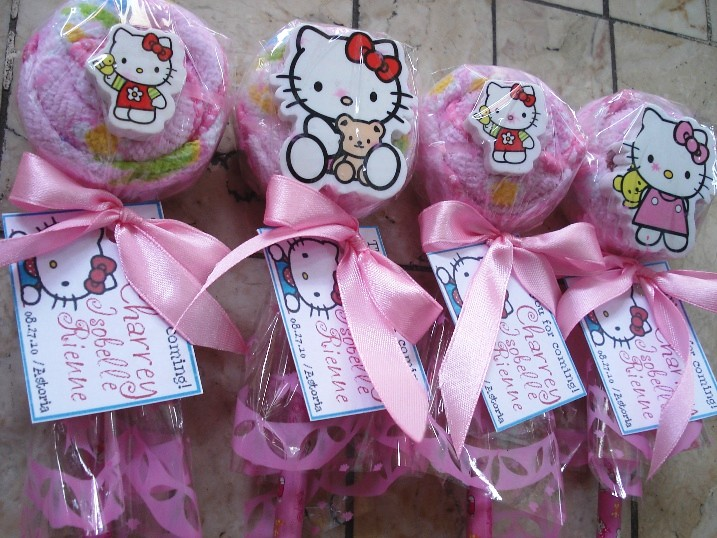 Hello kitty baptismal giveaways souvenirs